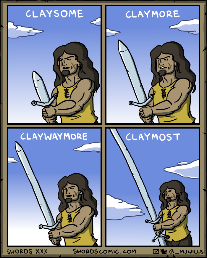...sometimes Multiple Swords In One Comic!