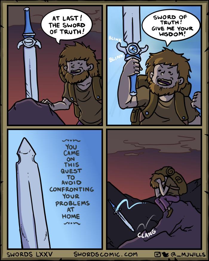 ...swords With Good Advice...