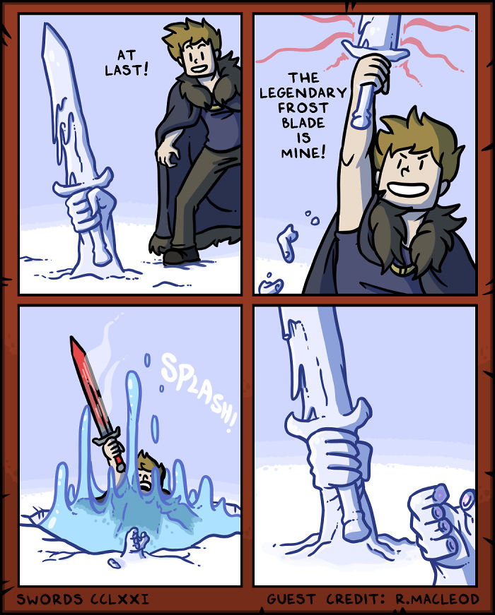 I Started Making A Webcomic All About Swords - Here's What Happened Next