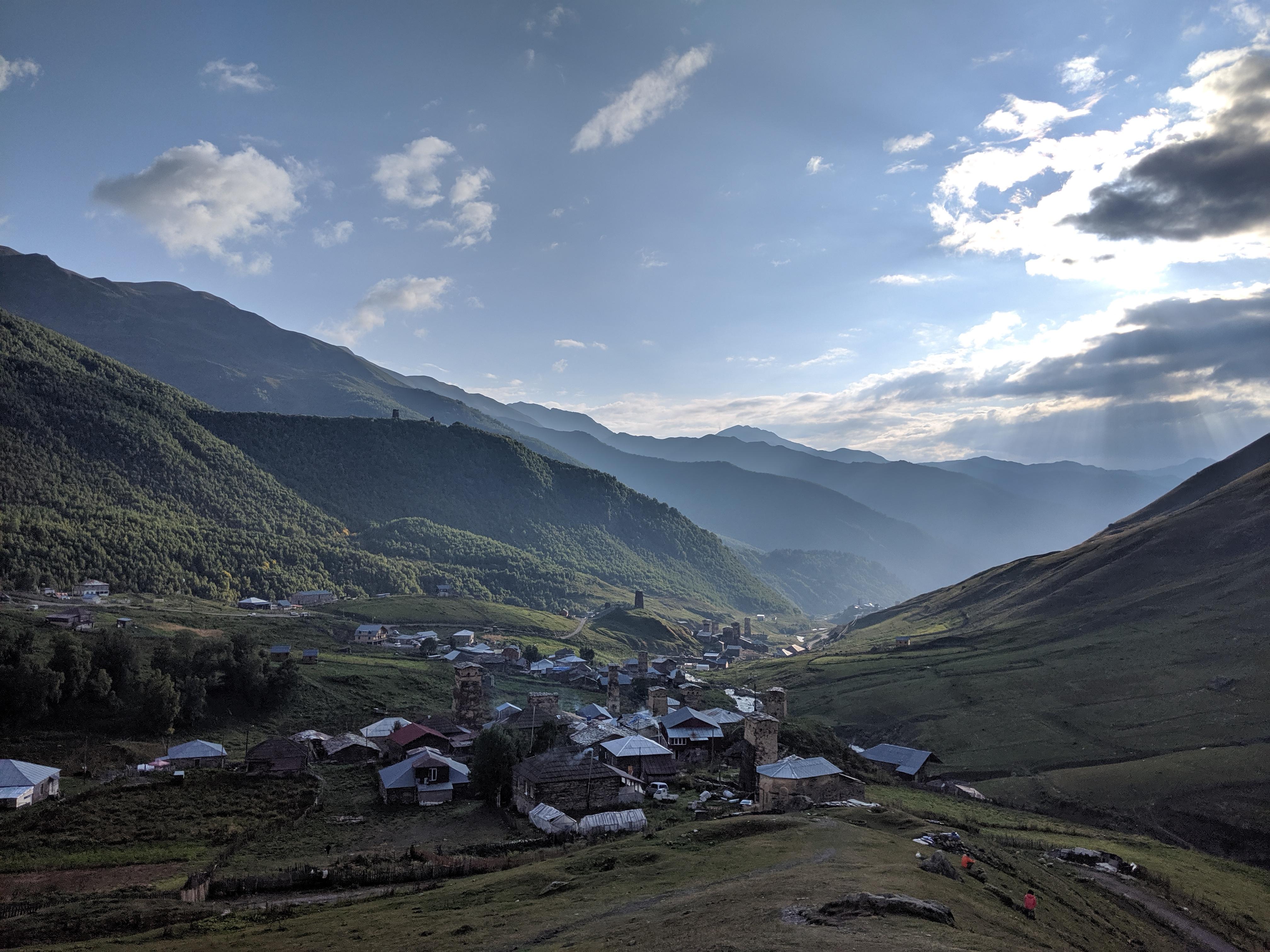 Ushguli Europe's Highest Permanent Settlement