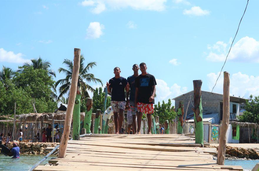 Friendship Bridge, Ricon Del Mar