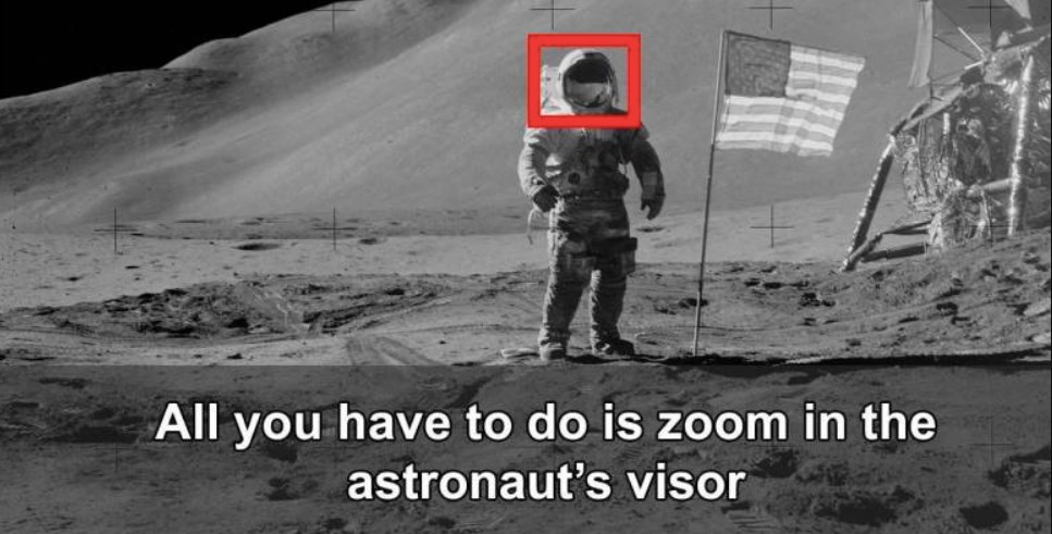 NASA 'Should've Looked Twice Before Posting These Apollo Moon Mission Images'