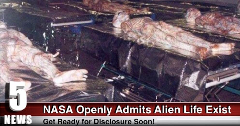 NASA OPENLY ADMITS ALIEN LIFE EXISTS (VIDEO)