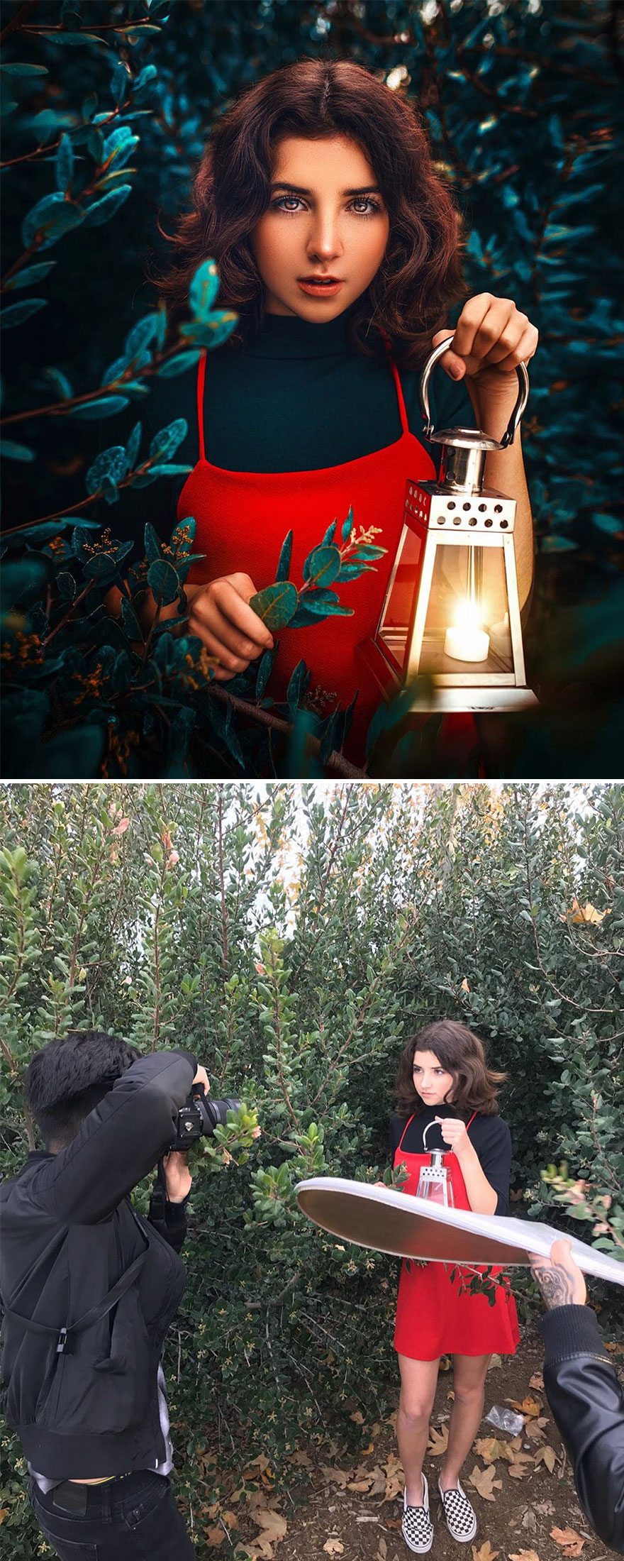 Photographer Shows Behind The Scenes Of Perfect Edits Of Your Photos