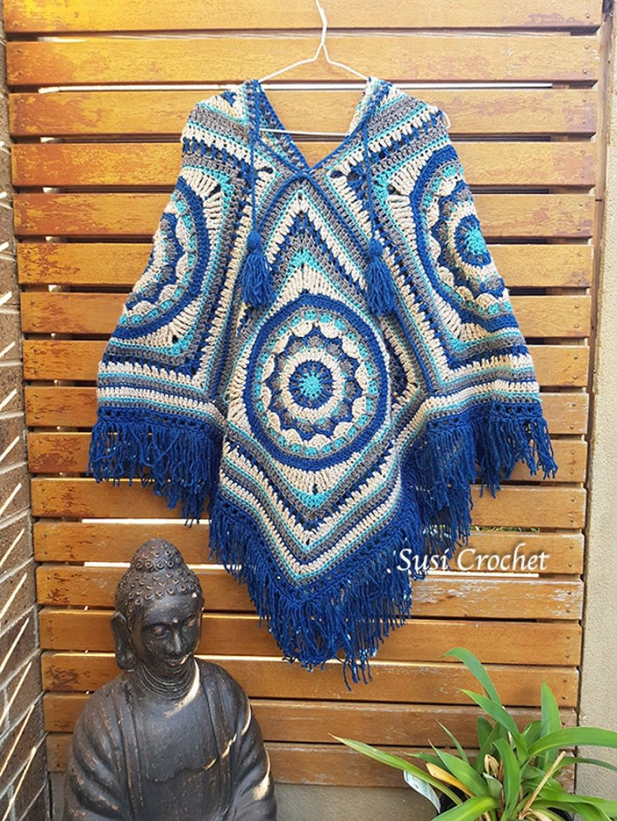 Ponchos Aren't Just For Grannies Anymore!