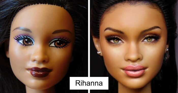 These 60 Celebrity Dolls Were Repainted By A Mexican Artist To Look Real