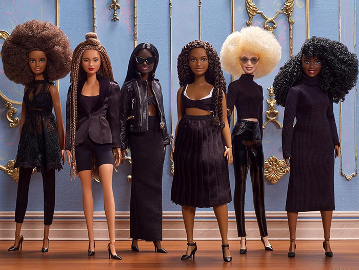 Barbie Released 10 New Dolls To Make Black Girls Feel More Represented