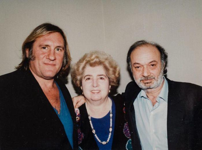 Gerard Depardieu And Claude Berri