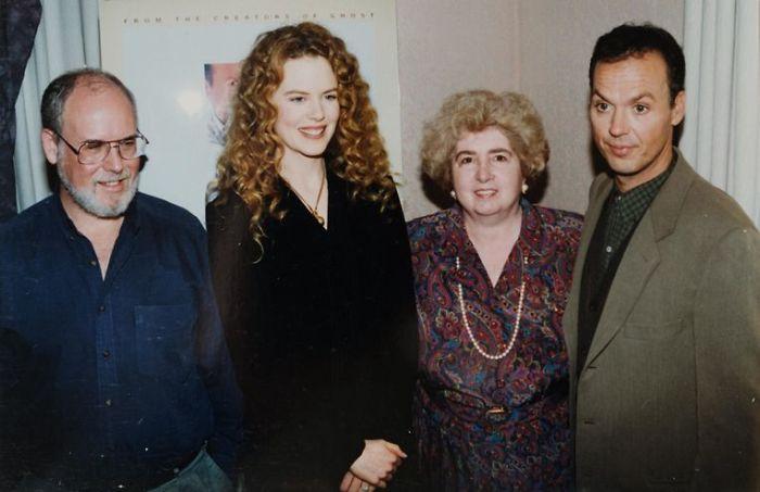 Nicole Kidman And Michael Keaton