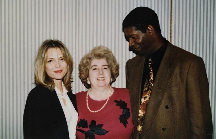 Michelle Pfeiffer And Dennis Haysbert