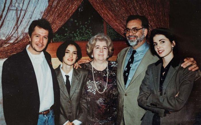 Gary Oldman, Francis Coppola And Winona Ryder