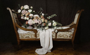 We Recreate World-Famous Paintings Out Of Flowers (7 Pics)