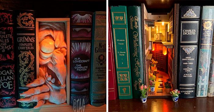 33 Separadores de estantería que encantarán a los amantes de los libros