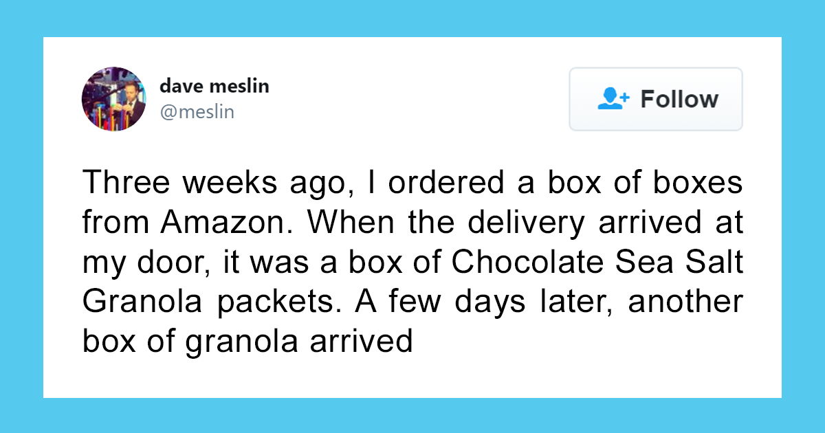 This Person's Attempt To Order A Box Of Boxes From Amazon Fails So Badly, It Becomes A Meme