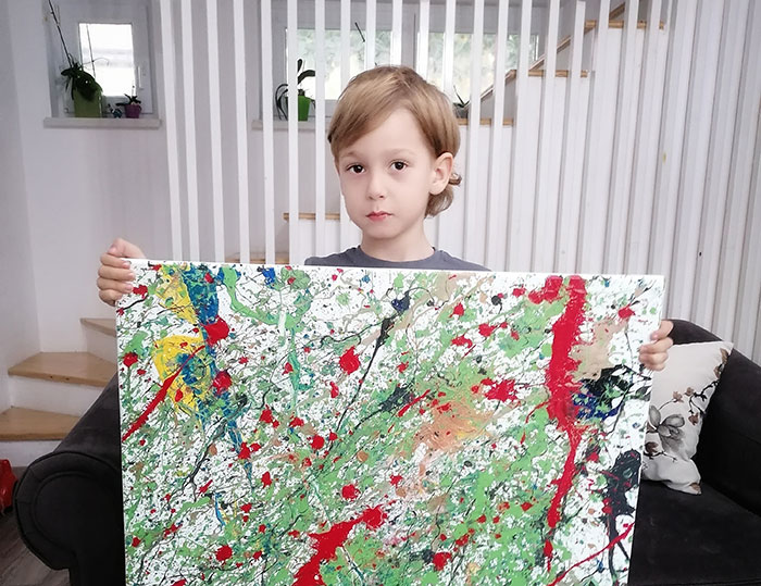 29 Paintings By My 5-Year-Old Son With Autism