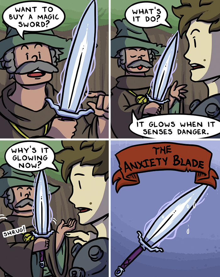 My Comics Are All About Swords And Sword Accessories, Here's 147 Of The Best