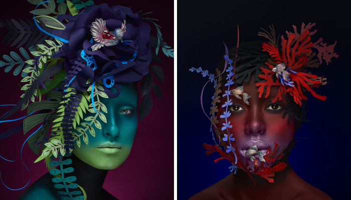 We Were Inspired By The Beauty Of Nature To Create Artistic Promo Campaign For A Jewelry Brand