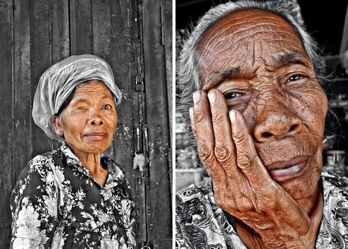I Photographe Seniors In Ubud From Up-Close