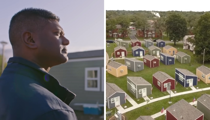This Tiny Home Community Gives Homeless Veterans A Chance
