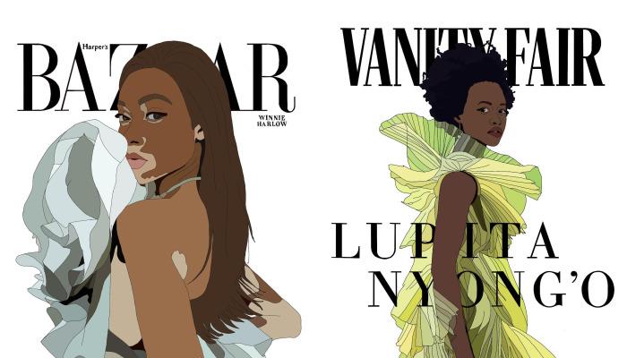 I Drew Some Magazine Covers Recently
