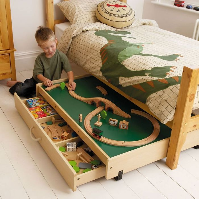A Play Room That Fits Under The Bed