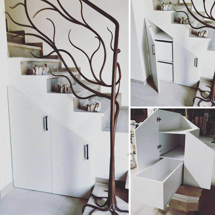 Staircase Cupboard