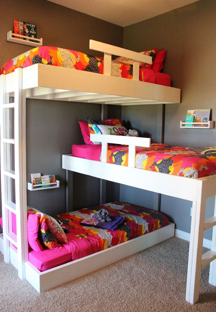 Triple Bunk Beds Done Right