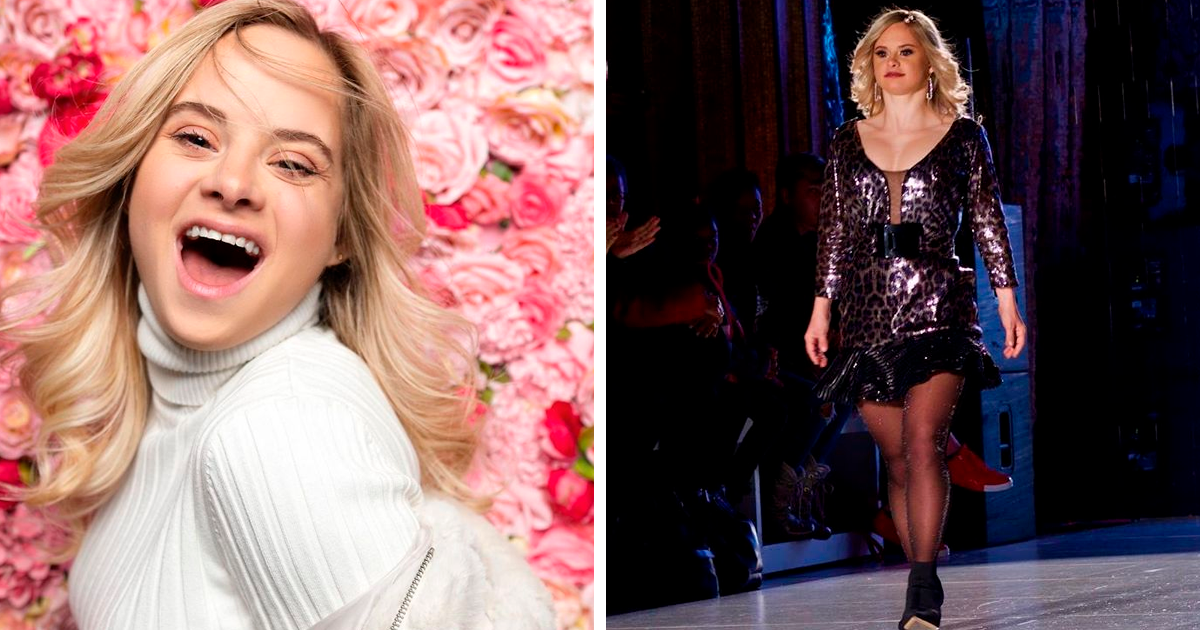 22-Year-Old Latina Model With Down Syndrome Walked The Runway At New York Fashion Week