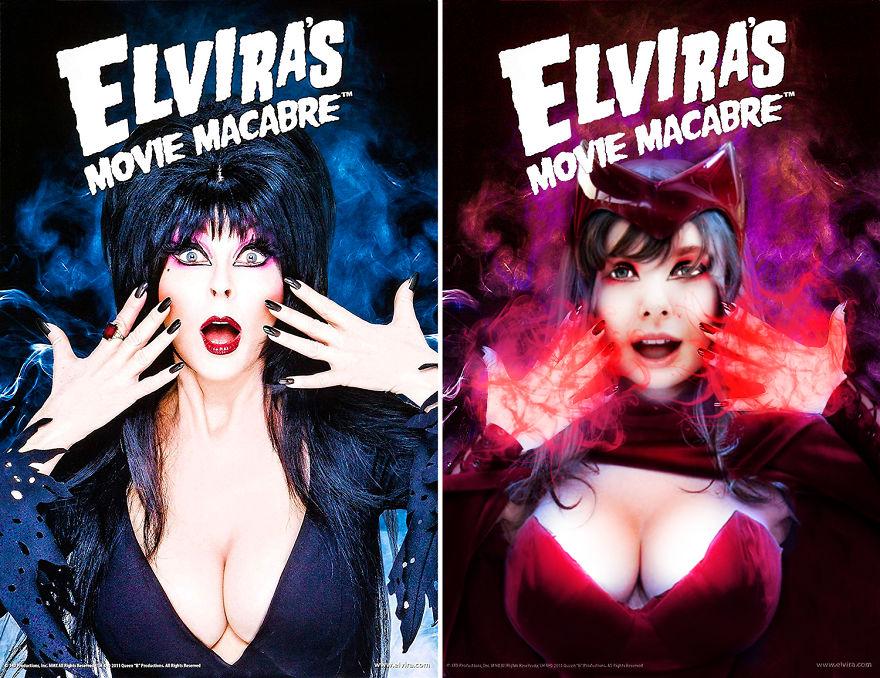 Scarlet Witch Starring Elvira