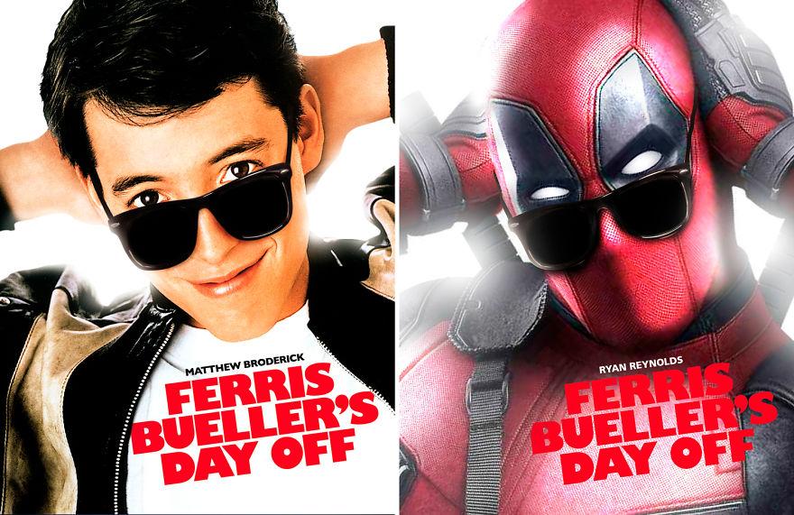 Deadpool Starring Ferris Bueller's Day Off