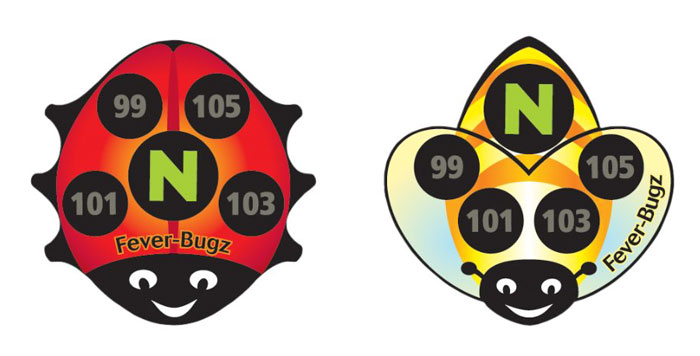 This Bug-Shaped Sticker Is An Ingenious Way To Measure Your Child's Temperature Without Any Hassle