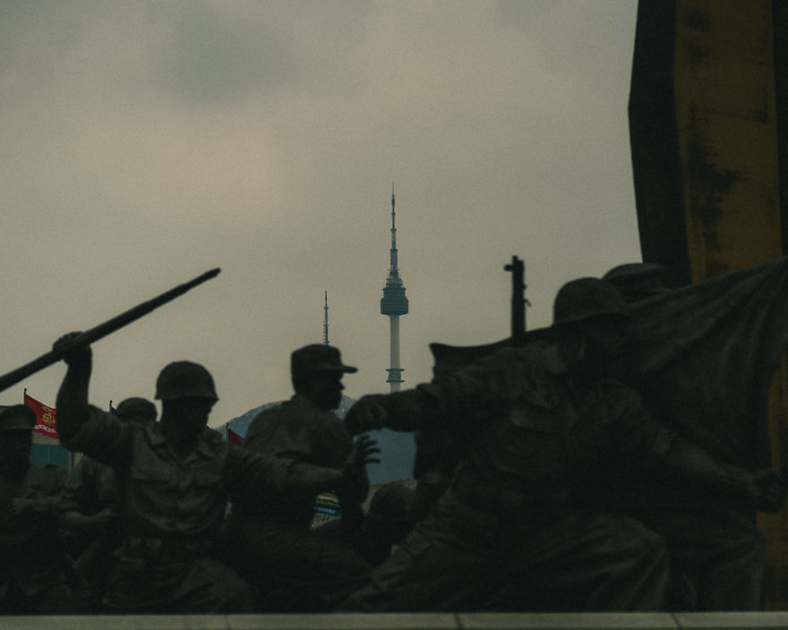 I Took These Photographs While On A Quick Outdoor Tour Of The War Memorial In Korea
