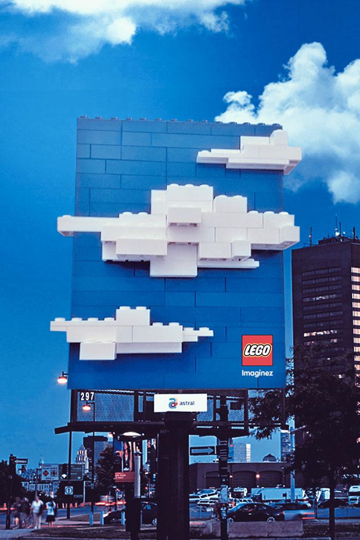 LEGO 3D Billboard