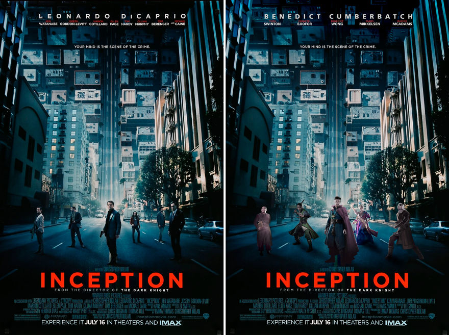 Dr. Strange Starring Inception