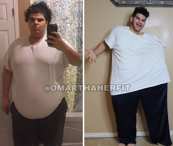 Tried On My Old Clothes After Losing 220 Lbs (2018 vs. 2019 Comparison)