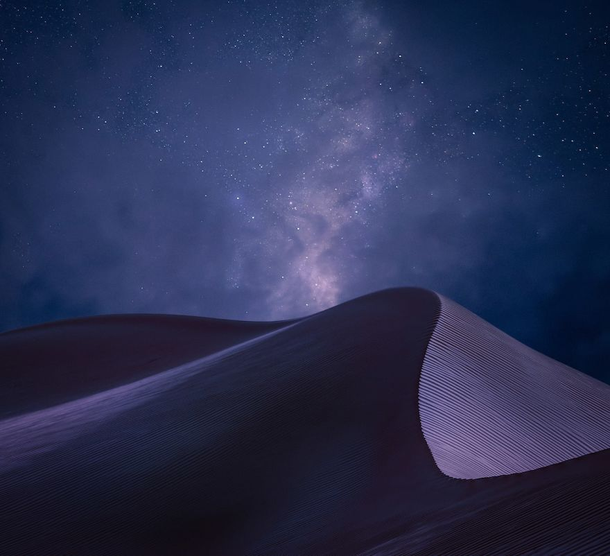 Third Place: Sharqiya Sands Desert, Oman By Peter Adam Hoszang