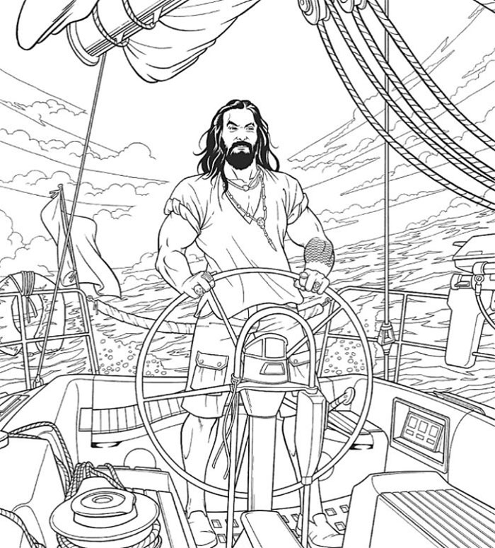 A 'Jason Momoa Coloring Book' Exists And It Is Supposed To Ease Your Stress