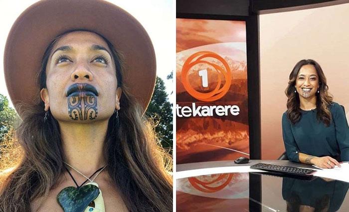 Esta mujer explica cómo ser respetuosos después de que una presentadora se hiciera un tatuaje facial muy visible