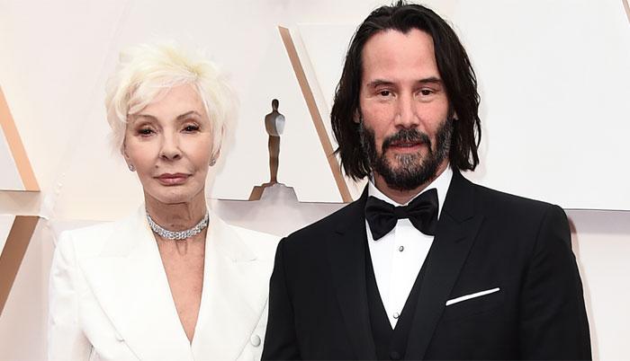 Keanu Reeves triunfa en la alfombra roja de los Oscars al llevarse a su madre como acompañante