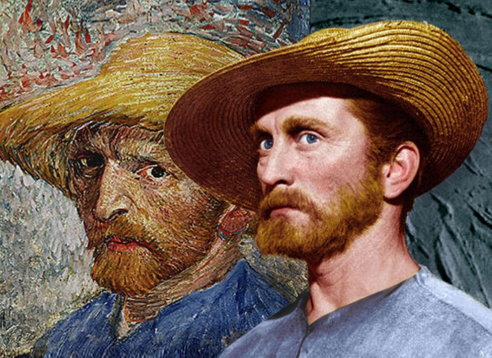 "Here Are Kirk Douglas' Impressive Publicity Shots As Vincent van Gogh in ""Lust For Life"" (1956)"