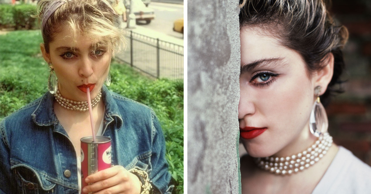 29 Portraits Of Madonna Before Her Fame Taken By Richard Corman In 1983