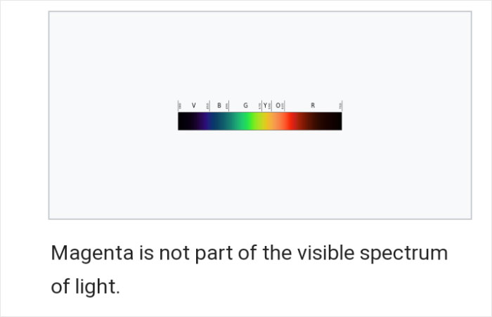 Tumblr Users Freak Out That Magenta Is Not A Real Color And That Impossible Colors Exist