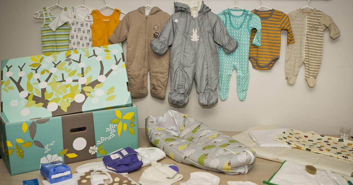 All New Parents In Finland Receive 63-item Starter Kit From The Government - bored panda