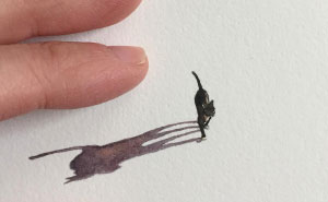 These 96 Tiny Paintings By Brooke Rothshank Are One-Inch Replicas Of Everyday Things