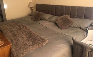Mom Tired Of Her Husband And Kids Taking Up All The Bed Space Spends £440 To Create A Massive 9ft Bed