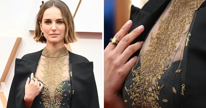 Natalie Portman's Oscar Outfit Honors Snubbed Female Directors