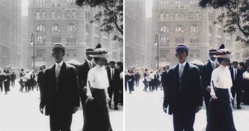 New York 1911 4k 60 Fps