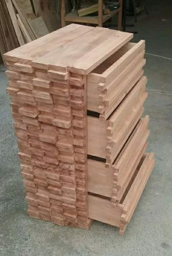 This Retired Cabinet Maker Goes Viral For Making Broken And Weird Furniture That Belongs In Disney Movies