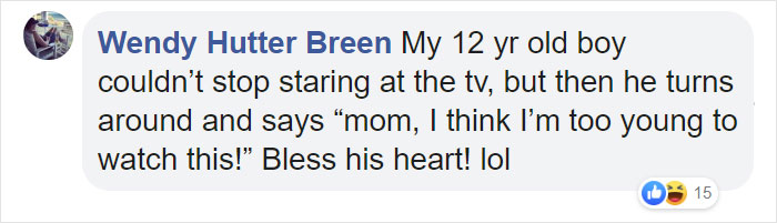 Mom Shares Her 14 Y.O. Son's Face In Response To J.Lo At The Super Bowl, Other Parents Share Their Kids' Reactions