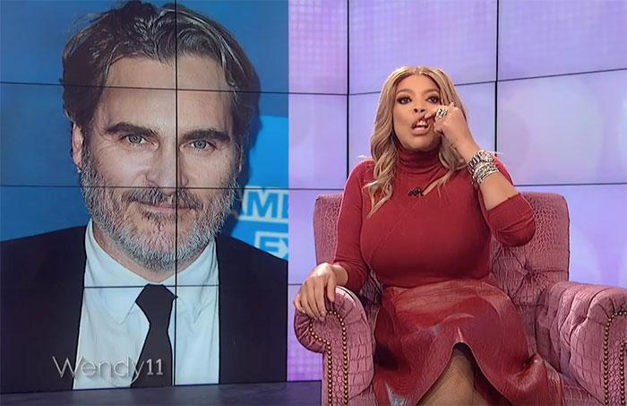 Wendy Williams Mocks Joaquin Phoenix For Having A 'Cleft Lip'